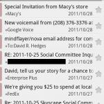 K9 Email 'full screen'